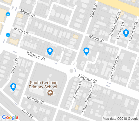 map of South Geelong apartments for rent