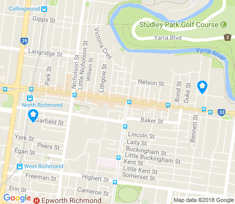 map of Abbotsford apartments for rent