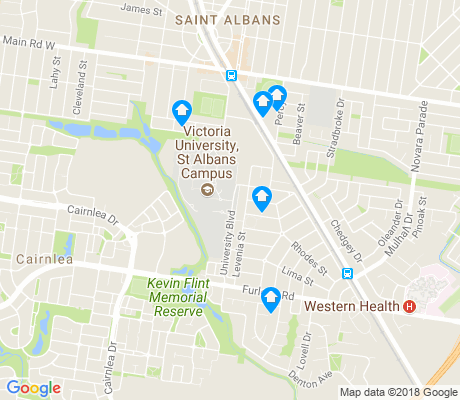 map of Cairnlea apartments for rent