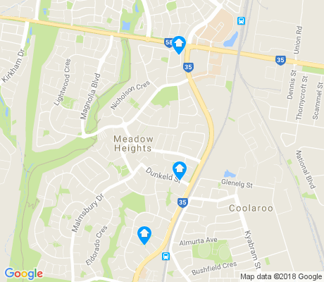 map of Coolaroo apartments for rent