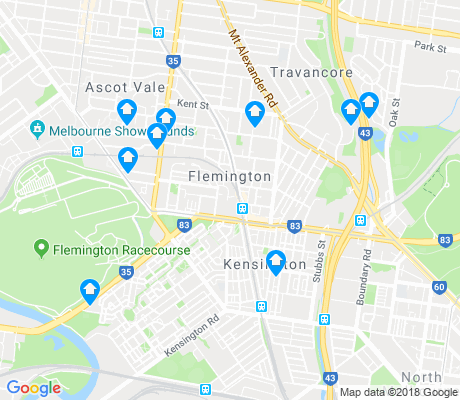 map of Flemington apartments for rent