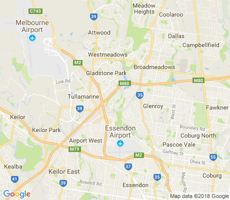 map of Gowanbrae apartments for rent