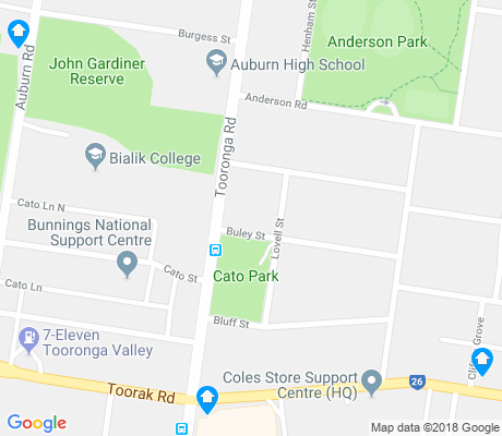 map of Hawthorn East apartments for rent