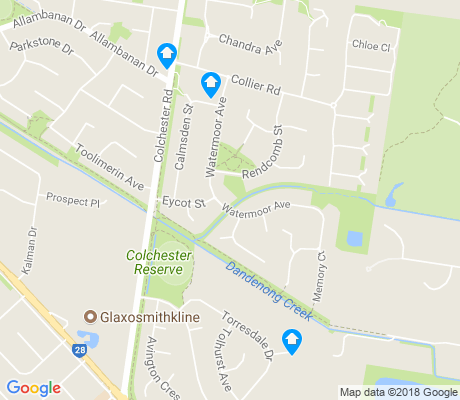 map of Kilsyth South apartments for rent