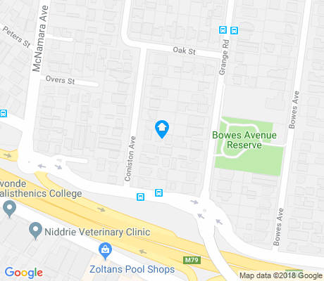 map of Niddrie apartments for rent