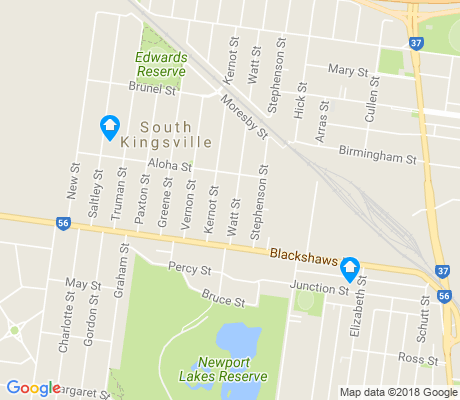 map of Spotswood apartments for rent