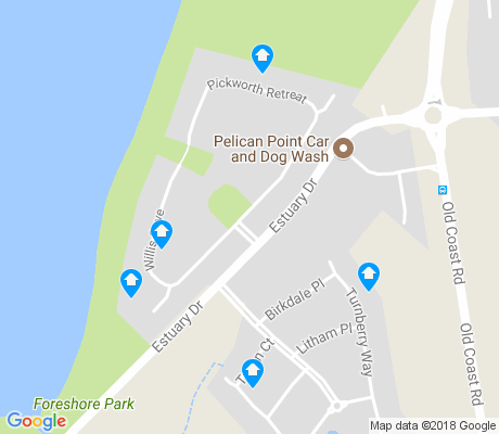 map of Pelican Point apartments for rent
