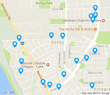map of Ashby apartments for rent