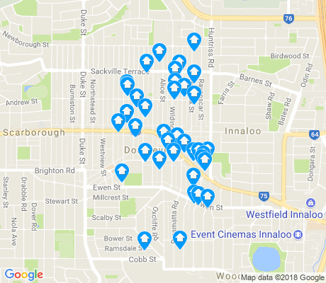 map of Doubleview apartments for rent