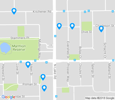 map of Myaree apartments for rent