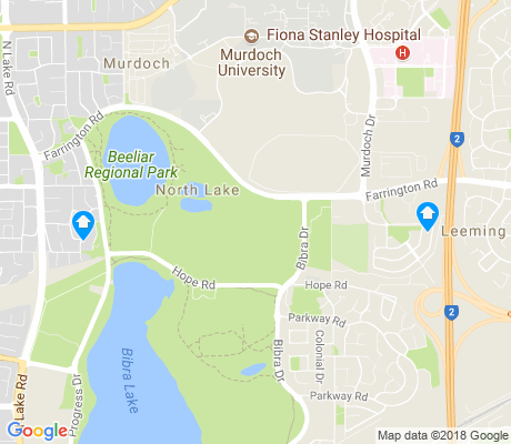 map of North Lake apartments for rent