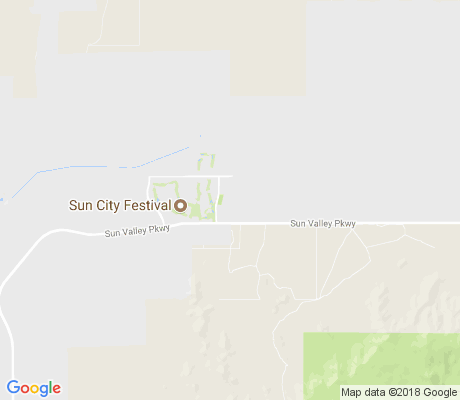 map of Festival Foothills apartments for rent