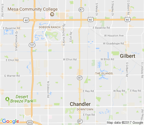 map of Amberwood North apartments for rent