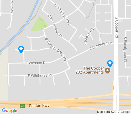 map of Canyon Oaks Estates apartments for rent