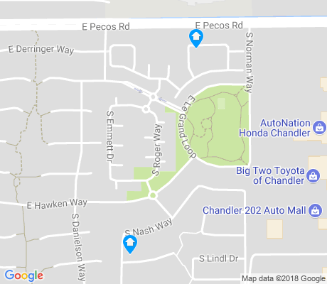 map of Rancho del Ray apartments for rent