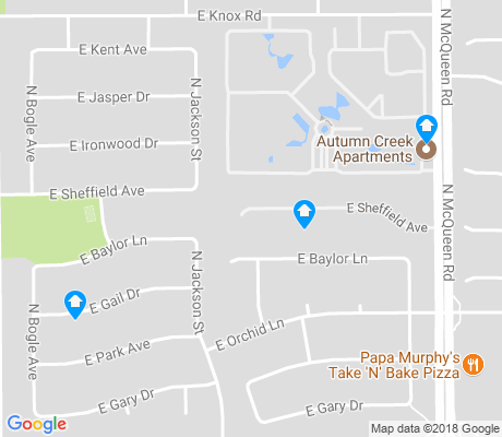 map of The Provinces apartments for rent