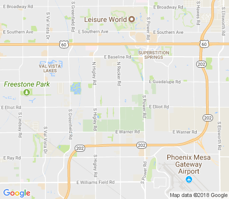 map of Holliday Farms apartments for rent