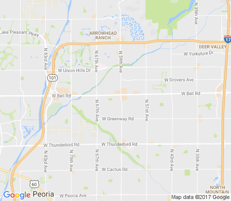 map of Brandywine Estates apartments for rent