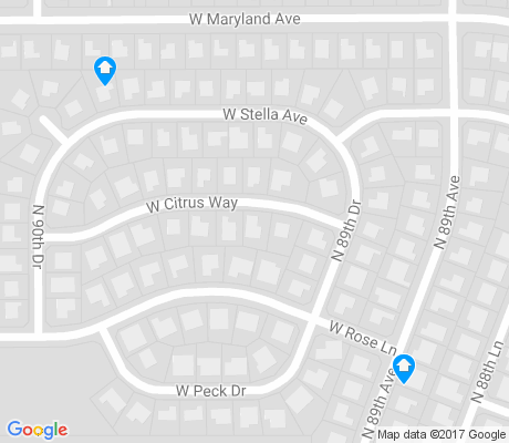 map of La Buena Vida apartments for rent