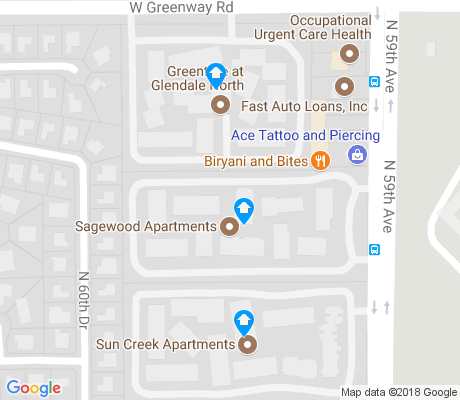 map of Pioneer apartments for rent