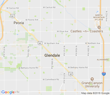 map of Sands Estates apartments for rent