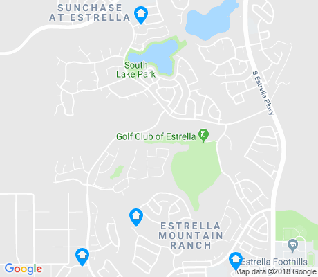map of Estrella Mountain Ranch apartments for rent