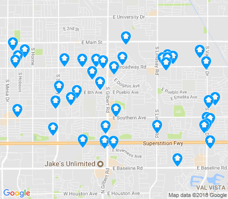 map of 85204 apartments for rent