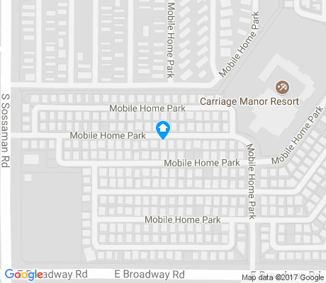 map of Carriage Manor apartments for rent
