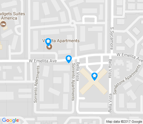 map of Fiesta apartments for rent
