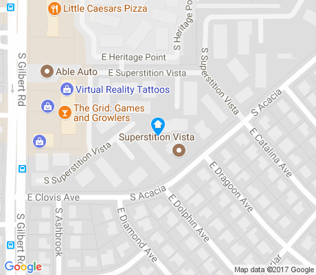 map of Fuller Ranch apartments for rent