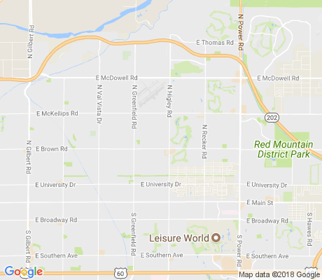 map of Mira Mesa apartments for rent