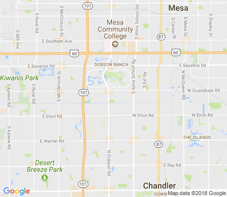 map of Palo Verde Park apartments for rent