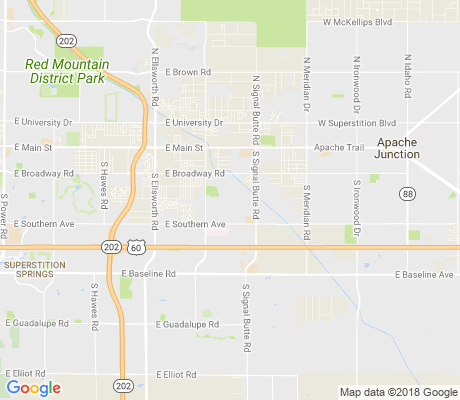 map of Parkwood Ranch apartments for rent