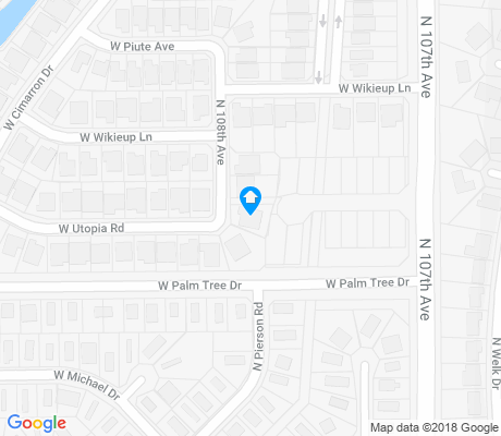 map of Ventana Lakes apartments for rent