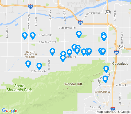map of 85042 apartments for rent