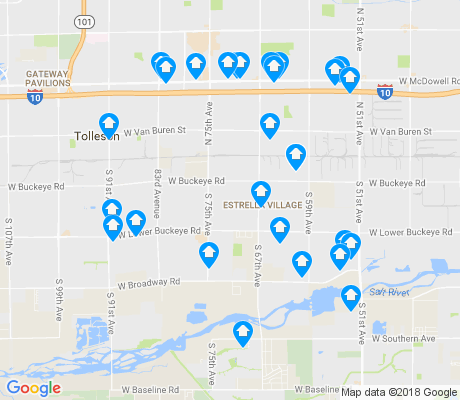 map of 85043 apartments for rent