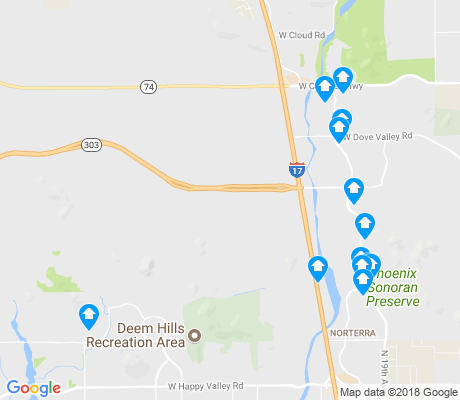 map of 85085 apartments for rent