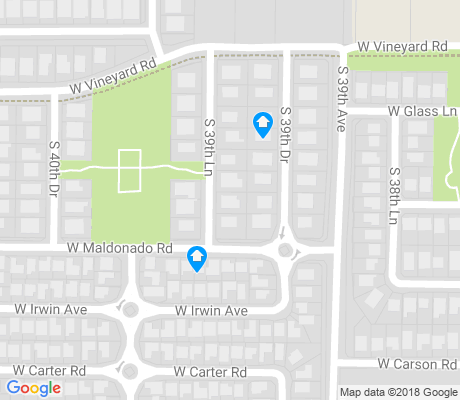 map of Arlington Estates apartments for rent