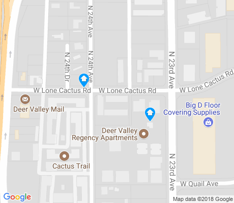 map of Black Canyon Heights apartments for rent