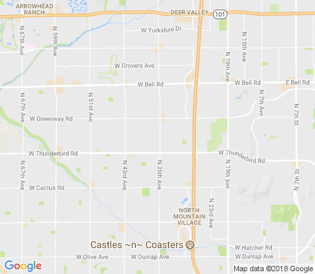 map of Deerview apartments for rent