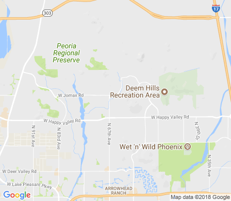 map of Eagle Ridge apartments for rent