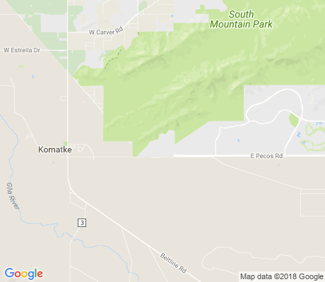 map of Foothills Reserve apartments for rent