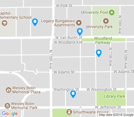 map of Governmental Mall apartments for rent