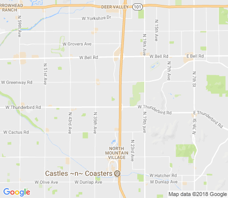 map of Knoell Royal Oaks apartments for rent
