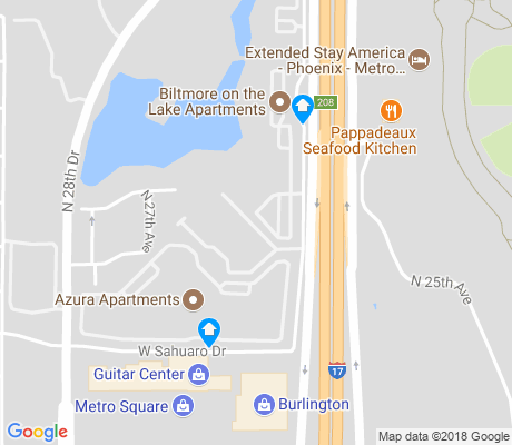 map of Lake Biltmore Village apartments for rent