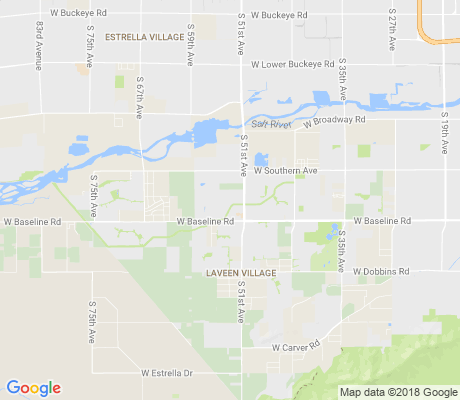 map of Laveen Crossing apartments for rent