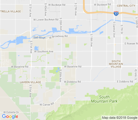 map of Laveen Village apartments for rent