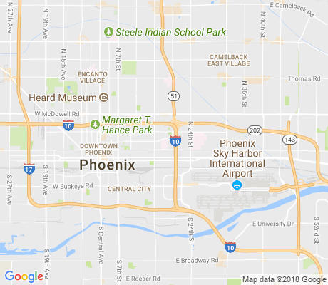 map of Montezuma Heights apartments for rent