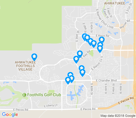 map of Mountain Park Ranch apartments for rent