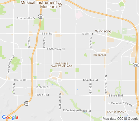 map of Norma Estates apartments for rent